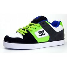 DC shoes Pure Slim taille 40 (us 7.5) noir/blanc/vert skate shoes skateboard bmx