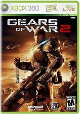 XBOX 360 Gears of War 2 Video Game Multiplayer Online Dramatic Shooter COMPLETE
