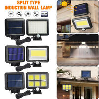56 100 120LED Solar PIR Motion Sensor Wall Lights Outdoor Garden Lamp Waterproof