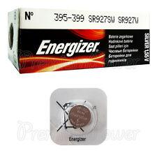 1 x Energizer 395 399 battery Silver Oxide 1.55V SR927SW SR57 Watch EXP:2020