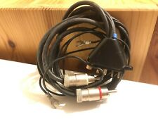 SME 3009 or 3012 Tonearm Phono cable interconnect Tri to RCA  100% SME original