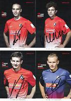 SC Freiburg - Saison 2013/14, 7 Autogrammkarten mit Originalunterschrift!