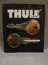 2 X THULE REPLACEMENT SPARE KEYS FITS HALFORDS,KARRITE,MONT BLANC,PADDY HOPKIRK