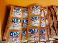 BIFI CARAZZA Pizza Snack im Carazza  Verkaufsdisplay 72 Stück MHD 28.04.21