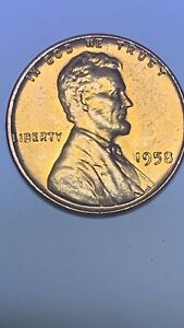 UNITED STATES / 1958 WHEAT PENNY / ONE CENT / LINCOLN ERRORS