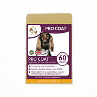 Professional Coat Conditioning Formula + Vitamin C Tablets for Dogs & Cats (60)