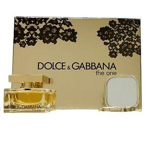 DOLCE & GABBANA THE ONE LACE EDITION 2 PIECE GIFT SET EAU DE PARFUM SPRAY 50ML