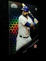 2020 Topps Chrome BLACK Yordan Alvarez #96 Rookie Refractor /199 RC AMAZING MINT
