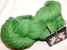 LUCKY GREEN 8oz Hank 660yd Galler PRIME HEATHER Sfine ALPACA Soft DK Luxury YARN
