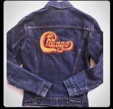 Vintage Levis BIG  E Type 3 60's Chicago Embroidered Jacket Small