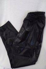 Women Disco Shinny Leggings Halloween Pants Black Costume Size Large