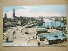 Postcard- 13. FRANCE, DUNKERQUE, GENERAL VIEW OF A CITY AND DOCKS