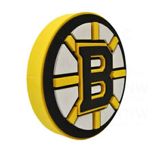 New NHL Boston Bruins 3D Fan Foam Logo Holding Wall Sign Made in USA