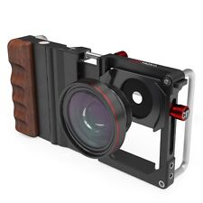 Koziro Cinema Mount Smartphone Rig Holder GND Filter Wide Angle Macro fit iPhone