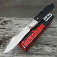 Kershaw Culpepper Folding Knife Satin 7Cr17MoV Steel Blade Black G10 Handle