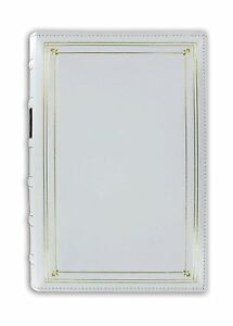 Pioneer BTA-204 Bonded Leather Photo Album White (Same Shipping Any Qty)