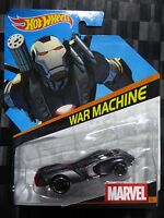 HOTWHEELS 1:64 Diecast Character Car - MARVEL #16 - WAR MACHINE