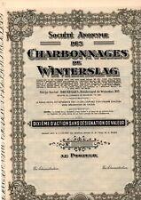 CHARBONNAGES DE WINTERSLAG                      2