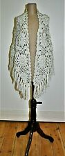 Vintage Chunky Knit Shawl