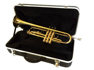 Bb TRUMPET-BANKRUPTCY SALE-BRAND NEW INTERMEDIATE CONCERT BRASS BAND TRUMPETS