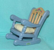 Fisher Price Briarberry Blue Rocking Chair