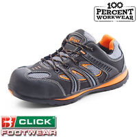 Security Scanner Screening Airport Metal Free Work Safety Trainers Shoes Toe Cap