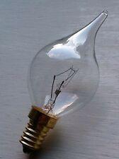 Ampoule Flamme MURANO Coup de Vent claire GIRARD SUDRON CROZE 40W E14 NEUVE