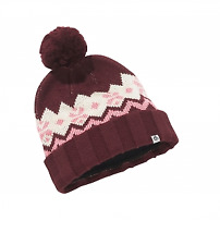 Craghoppers Knit Stripe Bobble Beanie Hat