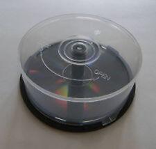 1 plástico vacías Pastel Tina Cd Dvd De Almacenamiento Caja Contiene 25 Discos