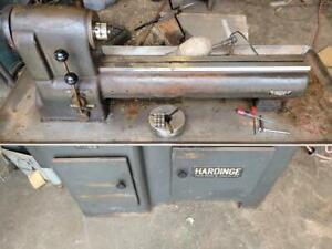 "Hardinge 9"" High Speed Precision Toolroom Lathe TR59 5"" chuck and 5C collets ESM"