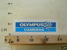 STICKER,DECAL OLYMPUS CAMERAS FINISH FLAG