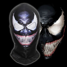 The Amazing Venom Spider-man Balaclava Cosplay Costume Full Face Mask Headgear