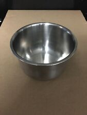 New listing 5� Diameter Stainless Bowl Used!