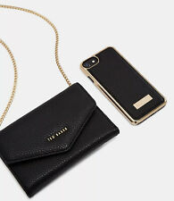 Ted Baker Luxurious Party Style 'SELIE' Crossbody Case Purse iPhone XS Max Black