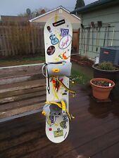 Kids Liquid Cirrus Mini Liquid Snowboard 124cm W/ 5150 Bindings