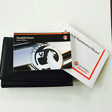 VAUXHALL NEW VIVARO SERVICE BOOK HANDBOOK & WALLET PACK FROM 2014 Brand New