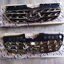 OEM Chrome Radiator Grille Grill For Hyundai 2010 2011 2012 GENESIS COUPE
