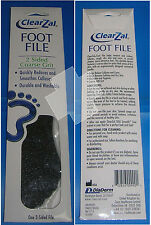 ClearZal Foot File 2 Sided Coarse 100 Grit Abrasive Callus Dry Heel Skin Remover