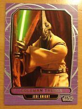 Star Wars 2012 Galactic Files 2 #420 Coleman Trebor Jedi Knight Mint