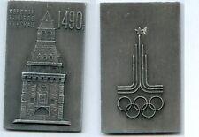 Gertbrolen Russie MédailleAluminium  Jeux Olympiques Clocher Place Rouge 1490