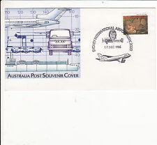 AUSTRALIA : PICTORIAL  POSTMARK SYDNEY INTERNATIONAL AIRPORT   1986 D