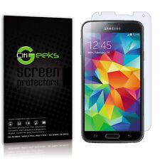 CitiGeeks® Samsung Galaxy S5 Screen Protector Matte Anti-Glare Shield [3-Pack]