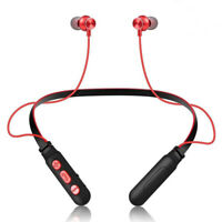 Neckband Running Magnetic Earphones Wireless Bluetooth Headphone Stereo Headset