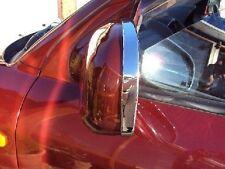 Para Hyundai Santa Fe 2001 - 2006 Anillos De Espejo De Ala Puerta del cromo conjunto de ajuste