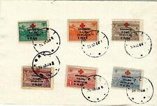 ALBANIA 1946 - Cat. Gimjani 460-465 set stamps in cover