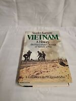 VIETNAM A HISTORY THE FIRST COMPLETE ACCOUNT- Stanley Karnow PBS - 1983 HCDJ