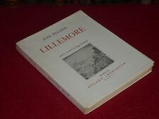 JEAN PELLENC/LILLEMORE Con Buril original Roger VIEILLARD (anciano) 1/200 Raro