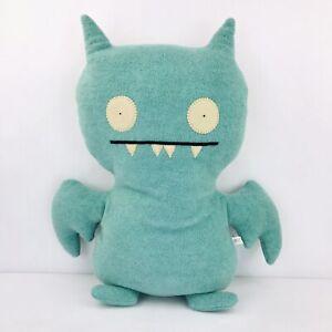 "Ugly Doll Ice Bat Plush 21"" Halloween Stuffed Animal Toy Blue Soft Cuddly"