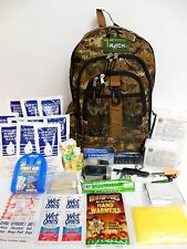 5 DAY SURVIVAL DISASTER KIT EMERGENCY PREPAREDNESS WITH FOOD WATER AND GEAR