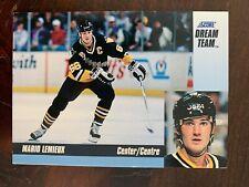 1993-94 Score Dream Team #10 Mario Lemieux - Pittsburgh Penguins - Rare
